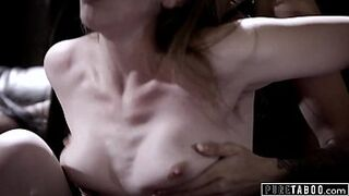 PURE TABOO Couple Picks Up Adolescent Hitchhiker & Have Trio