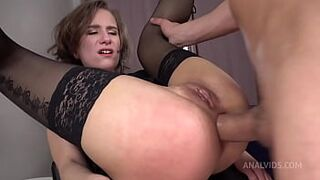Anastasia Mistress Heavy Screwed in The Bum   Spanking   Slapping   Asshole Squirt   Immense Butthole Gape VK035