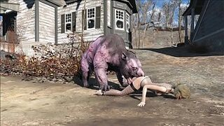 Fallout four Creatures