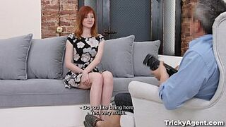Tricky Agent - Spontaneous porn debut Lili Fox eighteen years old-porn