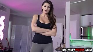 Pissed off mother in law fucks step son