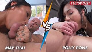 HER LIMIT - See Now The Hottest Anus Asian Edition - May Thai VS Polly Pons