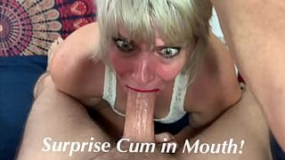 Sperm in Mouth Surprise