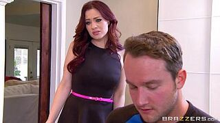 Brazzers - Excited Mature Mom Jessica Ryan likes massive man meat