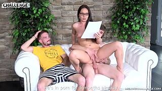 2 excited newcomers fail with pornstar Wendy Moon