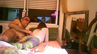 WEEKEND WITH DADY ,,,,HIDDENCAM   SEX ACT FOR CASH