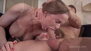 Top model Jenny Manson after Oscar ceremony heavy screwed in the butt   asshole squirt   asshole orgasm   asshole gape VK026