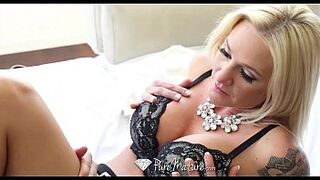 PureMature - Amazing chesty mama Alexis Malone is craving some strong dick