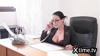 Italian business wife hiring a fella because of giant man meat
