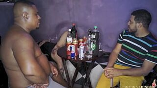 Wife is left at the club by her husband and 2 guys take advantage of her (with Leo Ogro)
