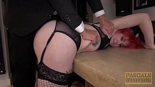 PASCALSSUBSLUTS - Red Hair Olivia Kinks banged to submission