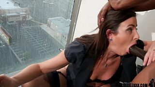 Lustful mother cucks hubby by phone with massive cock stud