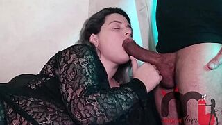 (Pregnant desire) I realized my cuckold's fantasy and had sex act with my father-in-law, who delights in man meat!