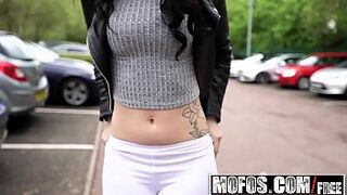 Mofos - Public Space Pick Ups - Beauty British Gals Needs Money starring  Dean Van Damme and Alessa Savage