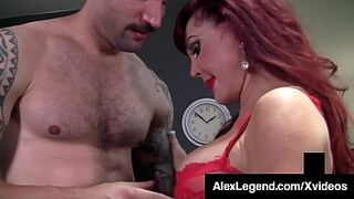 Older Wife Horny Vanessa Gets Enormous Penis Screwed By Alex Legend!