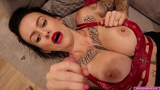 GIANT TIT Massive Thick BUM Tattooed Newbie ADOLESCENT Stepmother Extremely Over Tied Laughing Until She Gets Excited Then Wish To Get Screwed and Suck Man Meat - Melody Radford