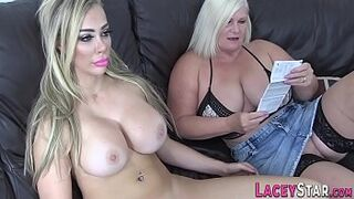 Lesbo granny rims and gets licked
