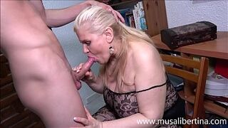 Oral and titjob with a grown-up expert like Musa Libertina