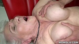 Norma the Lustful Cleaning Wife Finding some Porn on Laptop And Drilled