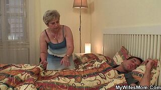 Mature in law taboo sex act revealed!