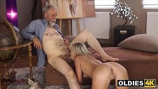 Hairy Old Educator Fucks His Beauty Queen Teenager Prodigy