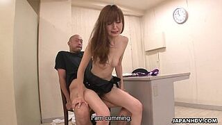 Slender Asian matron gets screwed so strong by her partner