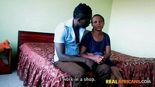 Real Ghana couple homemade sexual intercourse tape