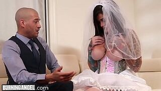 BurningAngel Lying Bride Gets Destroyed Strong By The Best Lad During Her Wedding