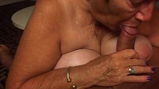 Woman giving me a great blow masturbation