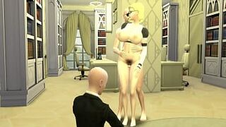 Maid Slaves Episode 9 Nro 18 Beauty Queen Juvenile Matron Maid Humped by Her Husband's Boss Netorare Dragon Ball Hentai
