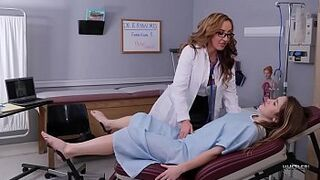 HUSTLER Gay Woman mature mom Doctors With Richelle Ryan and Paige Owens