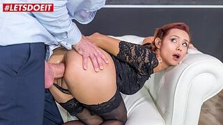 LETSDOEIT - Beauty Queen Large Booty Latina Veronica Leal Takes The Best Anus Intercourse Of Her Life