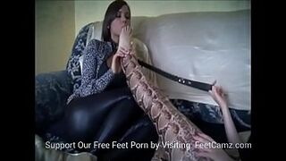 Gay Woman Slave Worship Dirty Feet