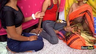 Nanad Bhabhi And Her Friend || Menage A Trois Indian Sexual Intercourse With Clear Hindi Audio