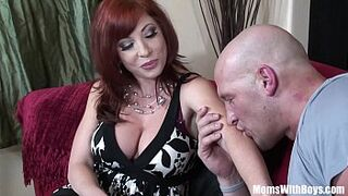 Red Hair Grown-Up Brittany O'Connell Pierced Vagina In Horny Stockings Banged
