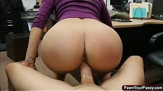 Darkis cutie Jessi fucking some massive man meat for money and r.