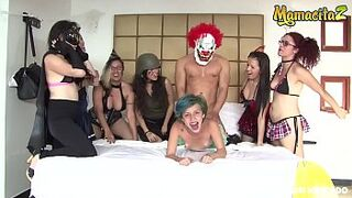 MAMACITAZ - #Siary Diaz - Halloween Crazy Intercourse Party With A Nasty Latina Young Lady