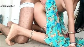 Indian Excited Bhabhi Maid Humped by Owner for Cash Hindi Galli Audio