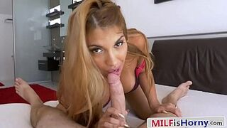 Bored Trophy Female Cheats With Her Son's Friend - Mercedes Carrera