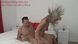 Granny Catches Grandson Watching Porn-Leilani Lei