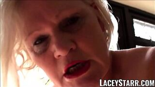 LACEYSTARR - Submissive GILF booty rammed by Pascal White