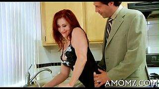 Massive penis for agreeable mature mom