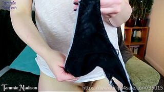 Making My Panties Sticky for You - Hysterical Literature Creaming The Cock and Jizz in My Panties