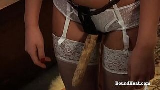 Disappeared On Arrival: Homosexual Girl Slave Screams From Harsh Strapon Sexual Intercourse With Madame