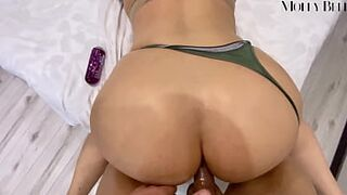 Screwed Horny Girlfriend in Doggystyle not Taking off Panties