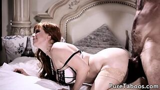 Cuckolding mother gets drilled doggystyle