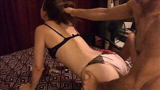 T&A 621 (02) - I Get Humped Between Every Change of Satin Lingerie Worn