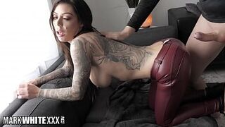 Do you Know Stunning Inked Babe Karma Rx? Hardcore BTS Interview