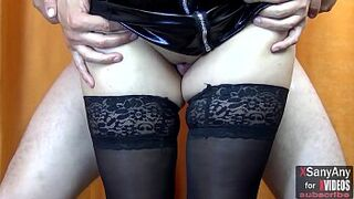 Thigh jobs :) Lustful legs in stockings and high heels - XSanyAny
