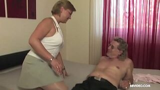 Inexperienced stepmom old Germans intimacy to 69 and bang on camera